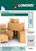 Samolepící etikety Lomond 189/25,4x10, A4, 50 listů