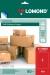 Samolepící etikety Lomond 1/210x297, A4, 50 listů, rudá barva