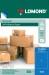 Samolepící etikety Lomond 1/210x297, A4, 50 listů, modrá barva